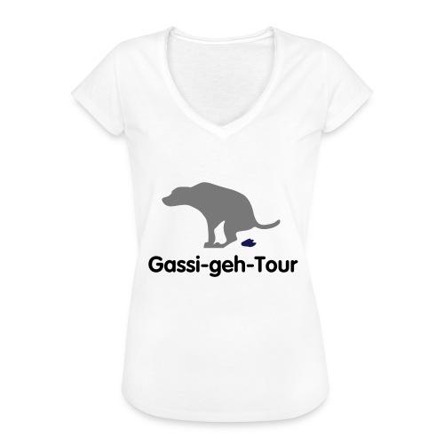 gassigehen - Frauen Vintage T-Shirt