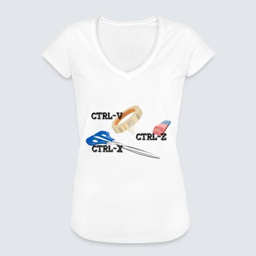 ctrl-c ctrl-x ctrl-z - Frauen Vintage T-Shirt
