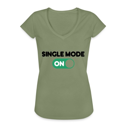 single mode ON - Maglietta vintage donna