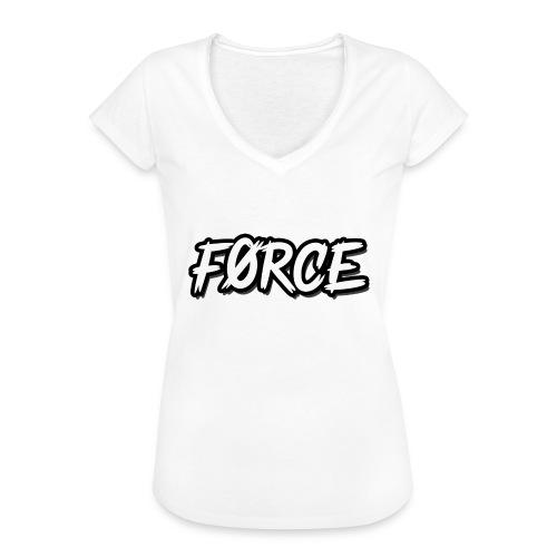 K - Vrouwen Vintage T-shirt