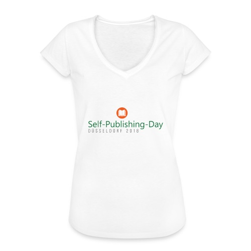 Self-Publishing-Day Düsseldorf 2018 - Frauen Vintage T-Shirt