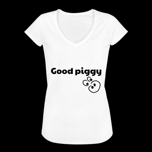 Good Pig - Women's Vintage T-Shirt