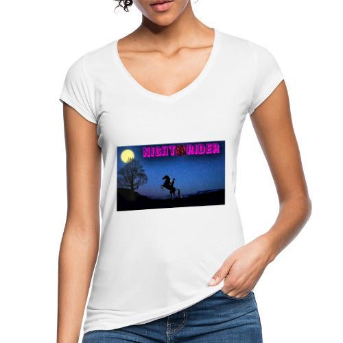 nightrider merch - Dame vintage T-shirt