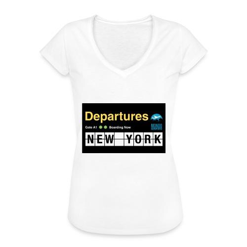 Departures Defnobarre 1 png - Maglietta vintage donna