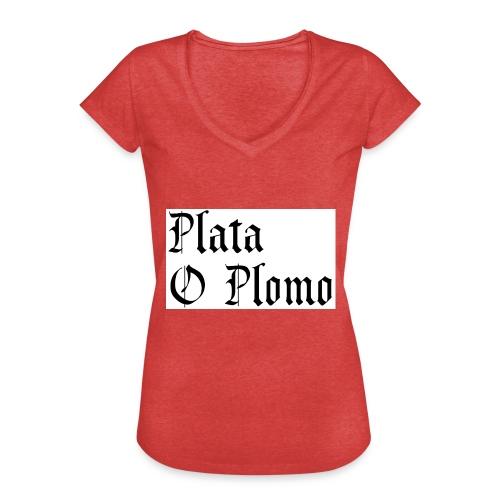 Plata o plomo - T-shirt vintage Femme