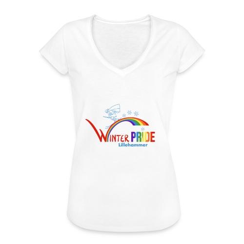 Winterpride - Vintage-T-skjorte for kvinner
