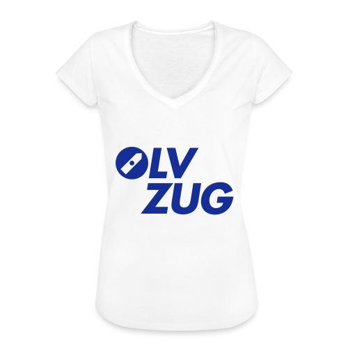 OLV_Zug_Logo_2_Z_ohneRand - Frauen Vintage T-Shirt