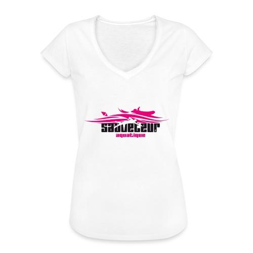 sauveteur aquatique - T-shirt vintage Femme