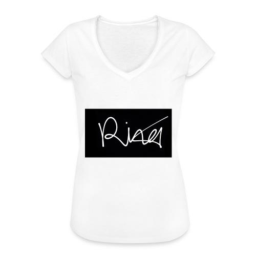 Autogramm - Frauen Vintage T-Shirt