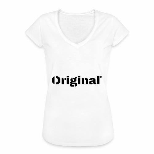 Original, by 4everDanu - Frauen Vintage T-Shirt