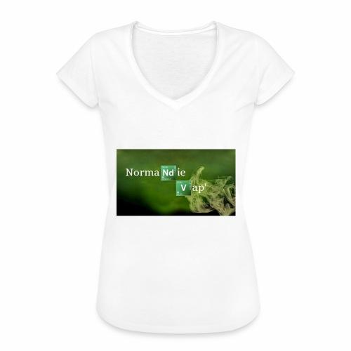 Normandie Vap' - T-shirt vintage Femme