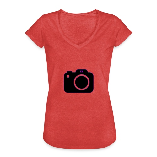 FM camera - Women's Vintage T-Shirt