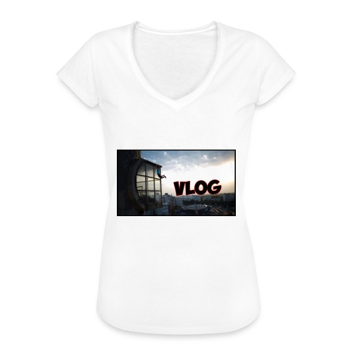 Vlog - Women's Vintage T-Shirt