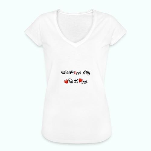 valenteens day - Frauen Vintage T-Shirt