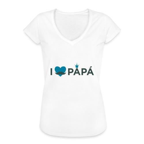ik hoe van je papa - T-shirt vintage Femme