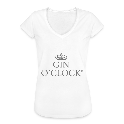 Gin O'Clock - Women's Vintage T-Shirt