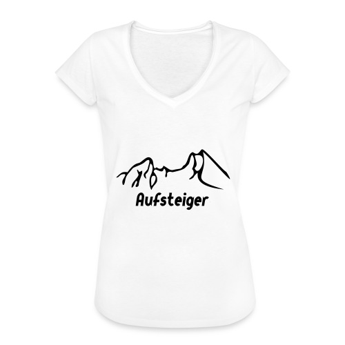 Bergsteiger Shirt - Frauen Vintage T-Shirt