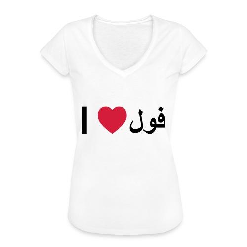 I heart Fool - Women's Vintage T-Shirt
