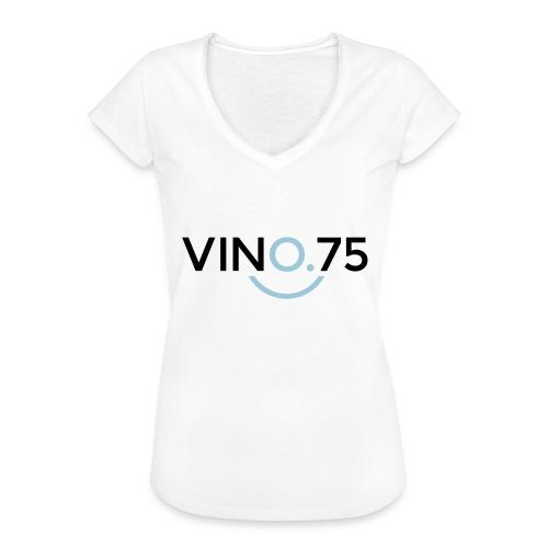 VINO75 - Maglietta vintage donna