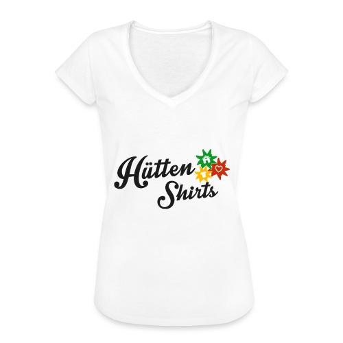huettenshirts large png - Frauen Vintage T-Shirt