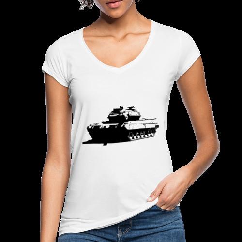 Leopard 2 Kampfpanzer - Stridsvagn 122 - Vintage-T-shirt dam