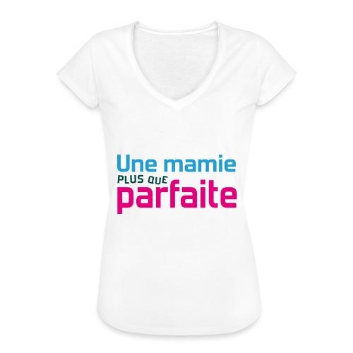 Uen mamie plus que parfaite - T-shirt vintage Femme