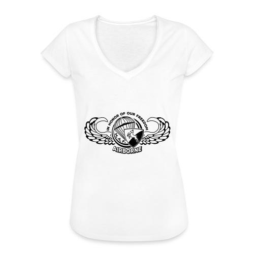 HAF tshirt back2015 - Women's Vintage T-Shirt