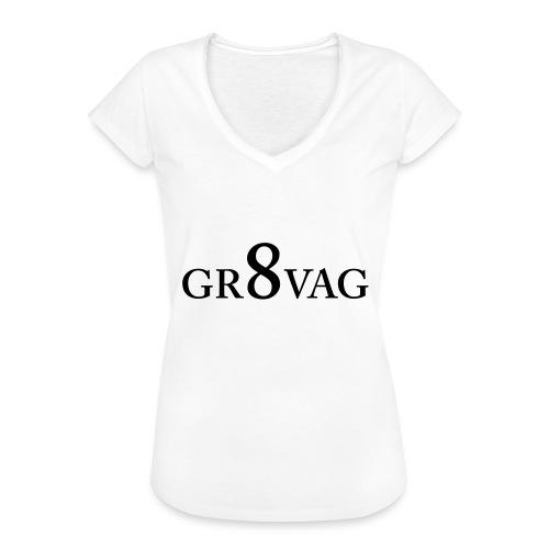 GR8VAG - Naisten vintage t-paita