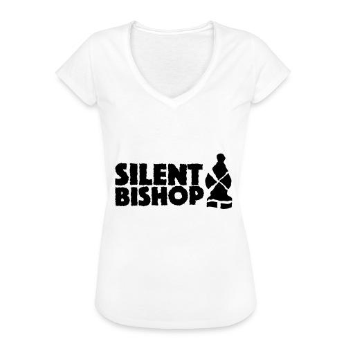 Silent Bishop Logo Groot - Vrouwen Vintage T-shirt