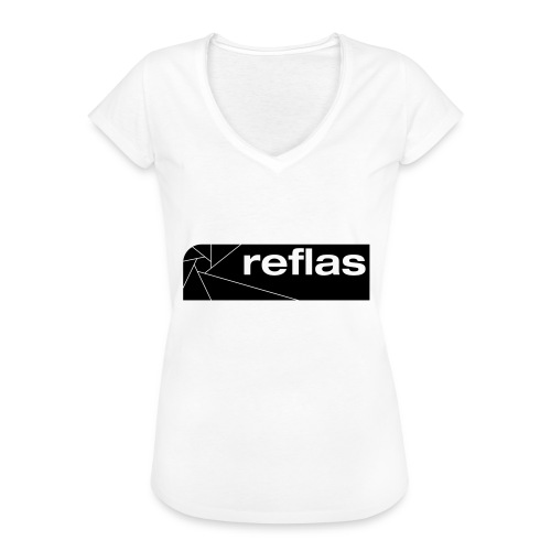 Reflas Clothing Black/Gray - Maglietta vintage donna