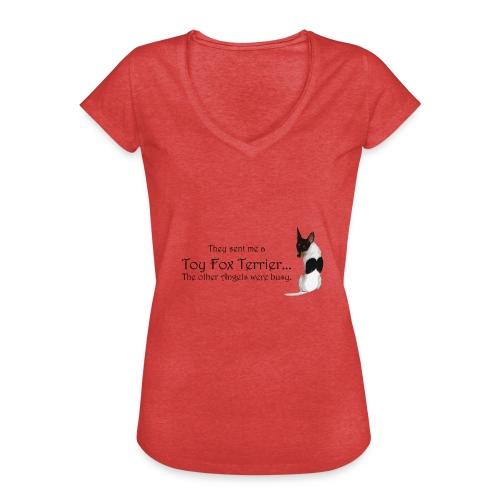 016 - Naisten vintage t-paita
