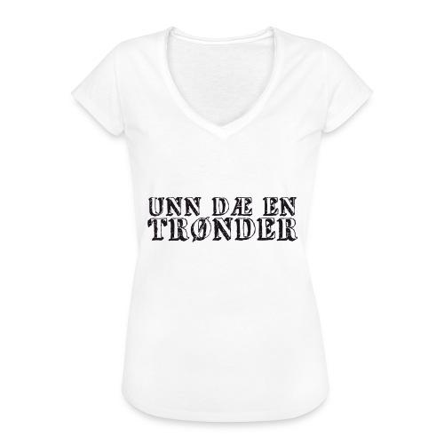 unndae - Vintage-T-skjorte for kvinner