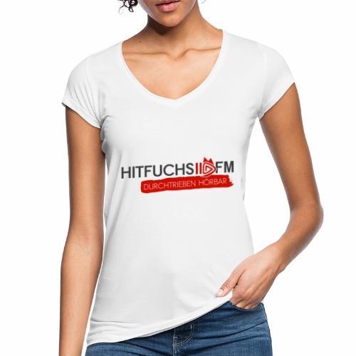 HitFuchs logo + slogan - Women's Vintage T-Shirt