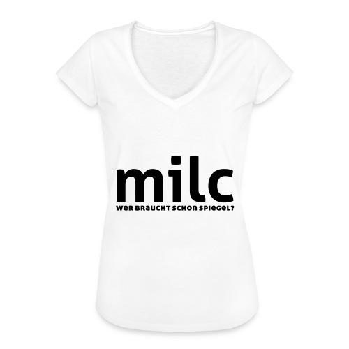 milc - Frauen Vintage T-Shirt