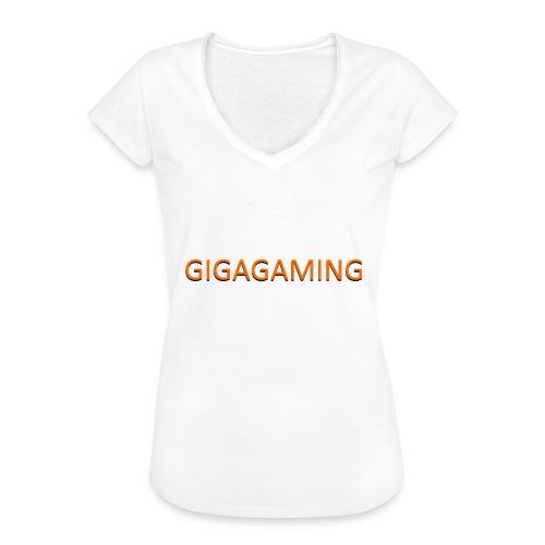 GIGAGAMING - Dame vintage T-shirt