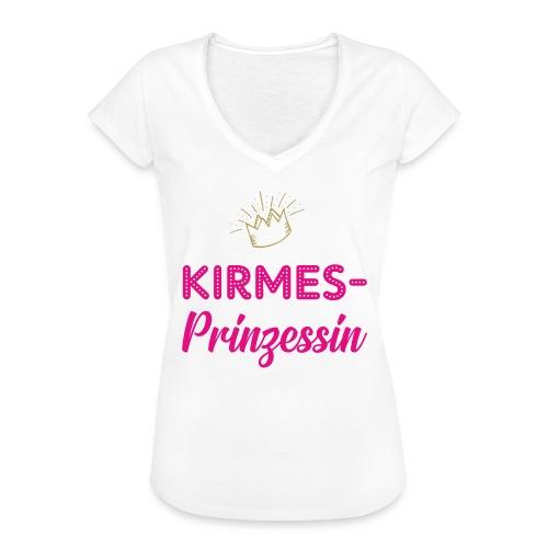 Kirmes-Prinzessin - Frauen Vintage T-Shirt