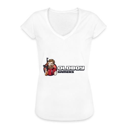 Oldboy Gamers Fanshirt - Vintage-T-skjorte for kvinner