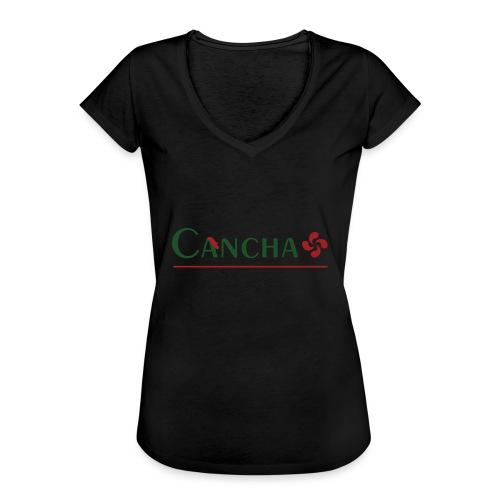 Cancha - T-shirt vintage Femme