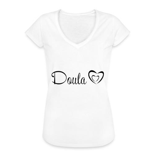 doula sydämet - Naisten vintage t-paita
