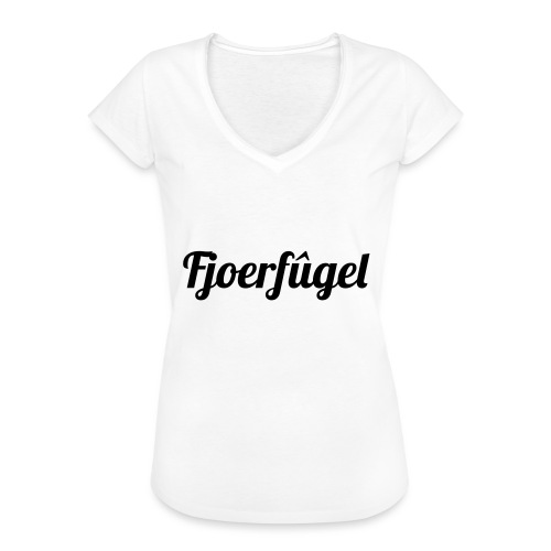 fjoerfugel - Vrouwen Vintage T-shirt