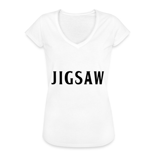 JigSaw Black - Women's Vintage T-Shirt