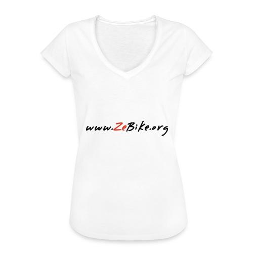 wwwzebikeorg s - T-shirt vintage Femme