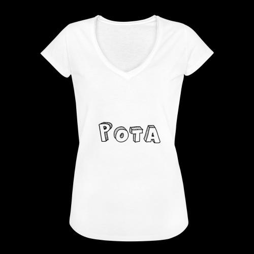 pota1 - Maglietta vintage donna