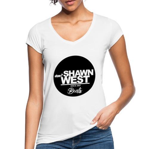SHAWN WEST BUTTON - Frauen Vintage T-Shirt