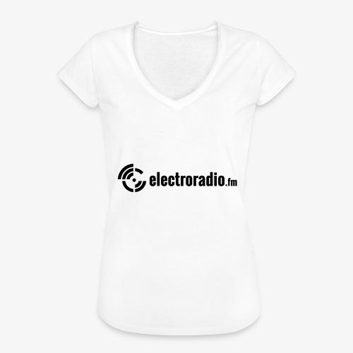 electroradio.fm - Frauen Vintage T-Shirt