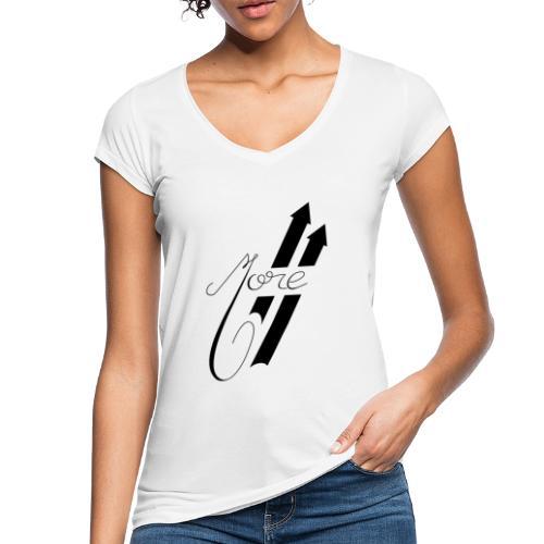 More : Faites Plus - T-shirt vintage Femme