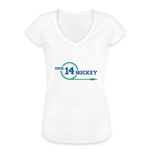 D14 HOCKEY LOGO - Women's Vintage T-Shirt