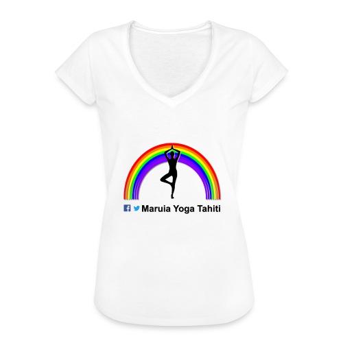 Logo de Maruia Yoga Tahiti - T-shirt vintage Femme