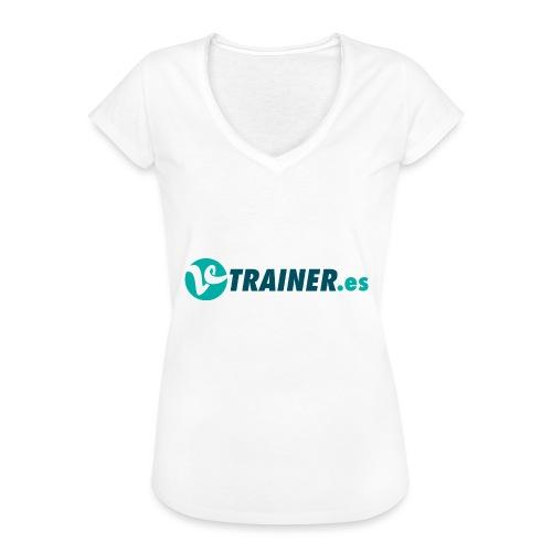 VTRAINER.es - Camiseta vintage mujer