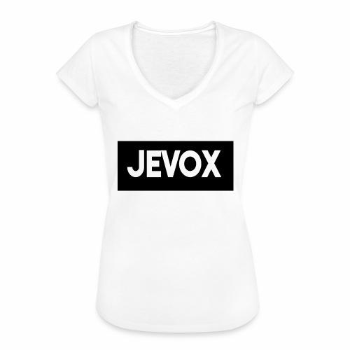 Jevox Black - Vrouwen Vintage T-shirt